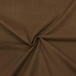 Фланель плательная, 145 см, однотон кофе №23