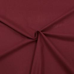 Фланель плательная, 145 см, однотон бордовый №24