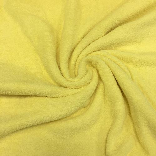Махра двухсторонняя, 160 см, цвет желтый