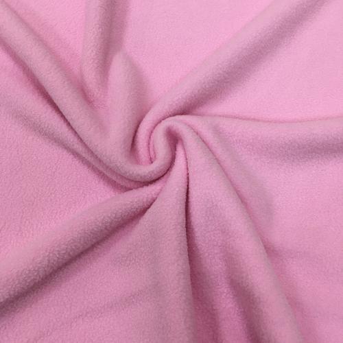 Флис однотонный, антипиллинг, 160 см, розовый цвет №2