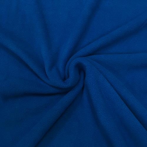 Флис однотонный, антипиллинг, 160 см, синий цвет №10