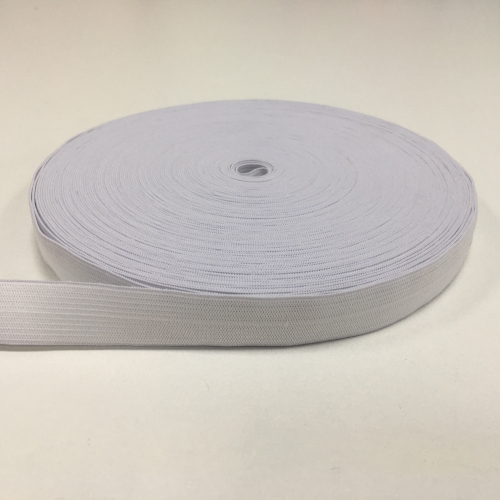 Резинка вязаная, ширина 2,5 см, 25 метров