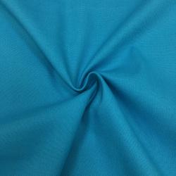 Канвас однотонный, 10 унций, 150 см, ярко-голубой №23