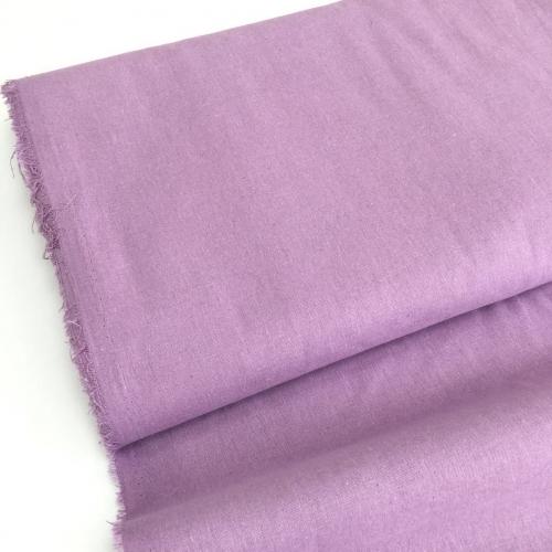 Полулён, 150 см, фиолетовый однотон №26