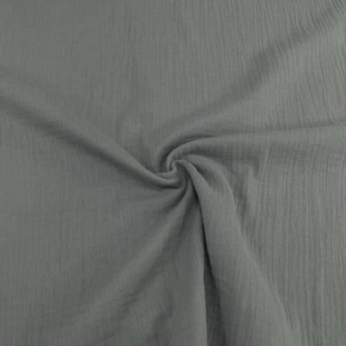 Муслин жатка-2, однотонный, 135см, серый, цемент