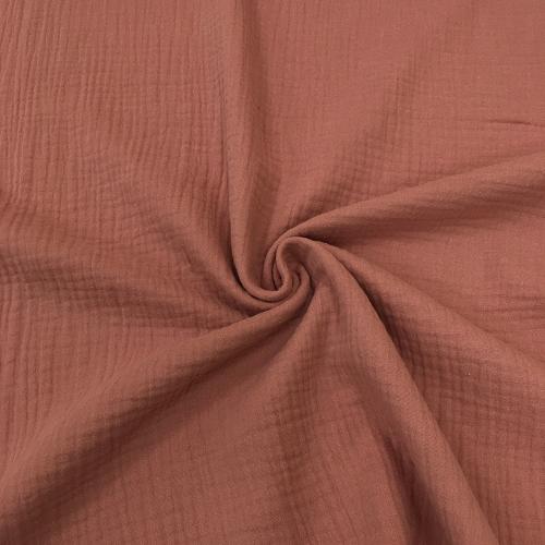 Муслин жатка, однотонный, 135 см, темная пыльная роза №60