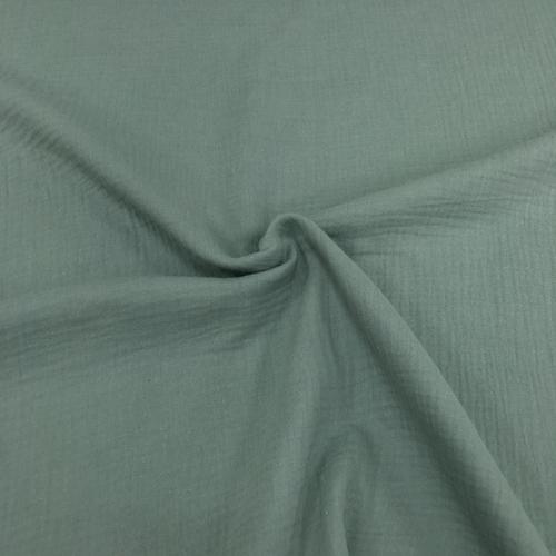 Муслин жатка, однотонный, 135см, фисташковый цвет №30
