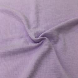 Муслин жатка, однотонный, 135см, фиолетовый цвет №20