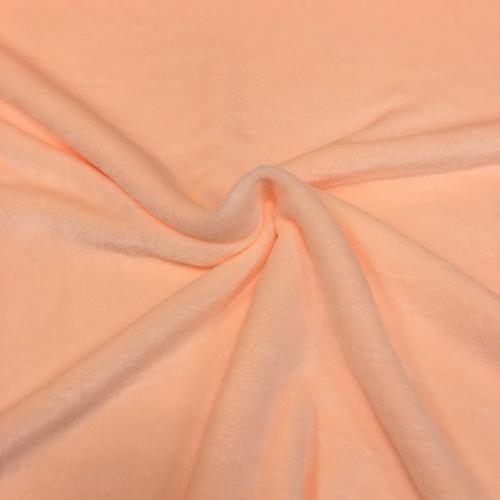 Велсофт двусторонний, 180 см, персиковый