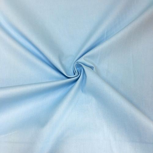 Ранфорс, 240 см, голубой однотон №54