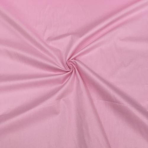 Сатин хлопок, 160 см, светло-розовый однотон 30005
