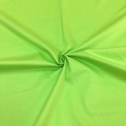 Сатин хлопок, 160 см, ярко-зеленый однотон №24