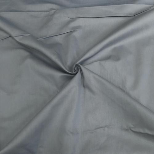 Сатин хлопок, 160 см, серый однотон №37