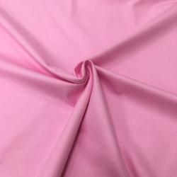 Сатин хлопок, 160 см, розовый однотон