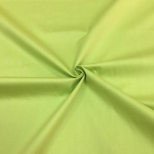 Сатин хлопок, 160 см, зеленый однотон 30012