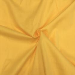 Сатин хлопок, 160 см, ярко-желтый однотон №16