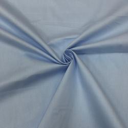 Сатин хлопок, 160 см, голубой однотон №5