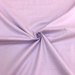 Сатин хлопок, 160 см, светло-фиолетовый однотон №43