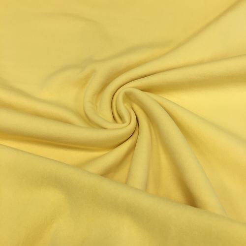 Футер 3-х нитка с начесом, цвет 05-02, светло-желтый