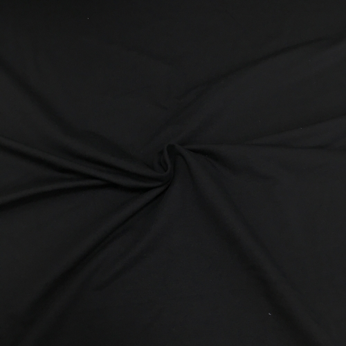 Футер 2-х нитка с лайкрой, цвет 40-02, черный