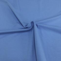 Футер 2-х нитка с лайкрой, цвет 18-02, голубой