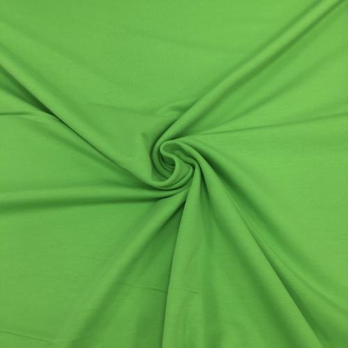 Футер 2-х нитка с лайкрой, цвет 14-01, киви, ярко-зеленый