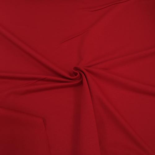 Футер 2-х нитка с лайкрой, цвет 11-02, красный