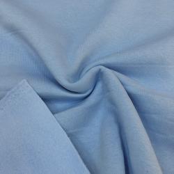 Футер 3-х нитка с начесом, цвет №6, голубой лёд