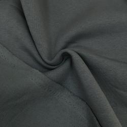Футер 3-х нитка с начесом, цвет №2, классический серый