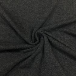 Кулирка тонкая 100% хлопок, 30/1, пачка, цвет темно-серый №1025