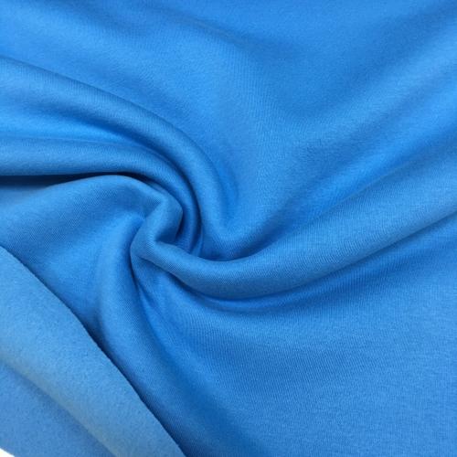 Футер 3-х нитка с начесом, цвет 18-03, синий