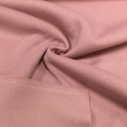 Футер 3-х нитка с начесом, цвет 09-19, розовая пудра