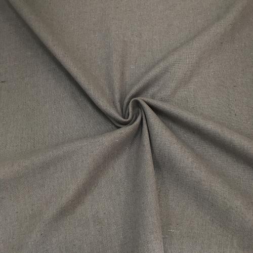 Полулён, 150 см, серый однотон
