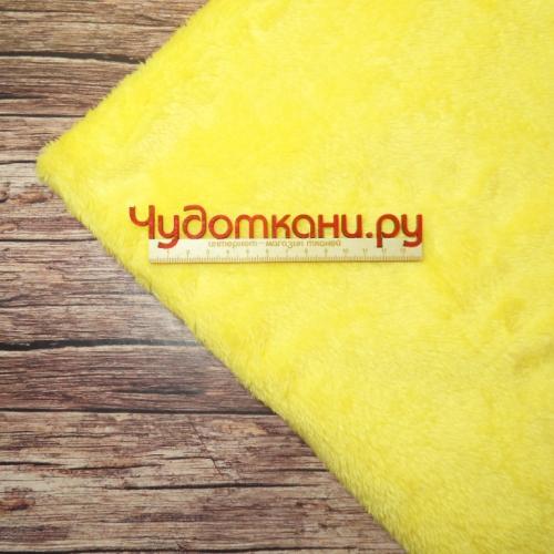 Велсофт средний ворс, желтый №39