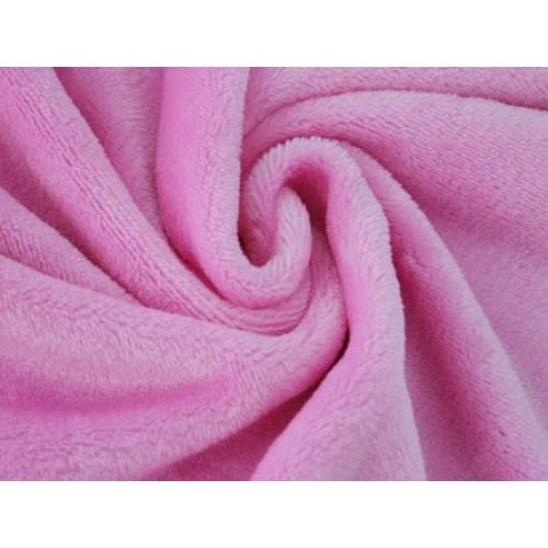Плюш двусторонний, 160см, розовый