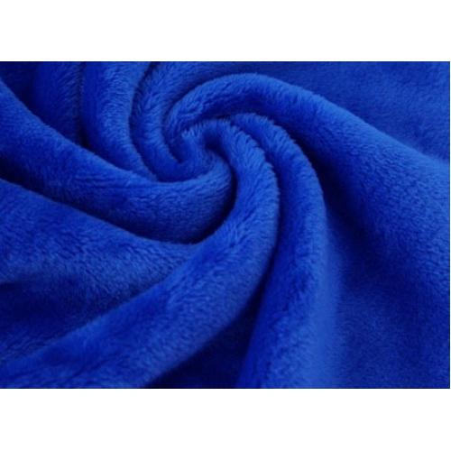 Плюш двусторонний, 160см, синий