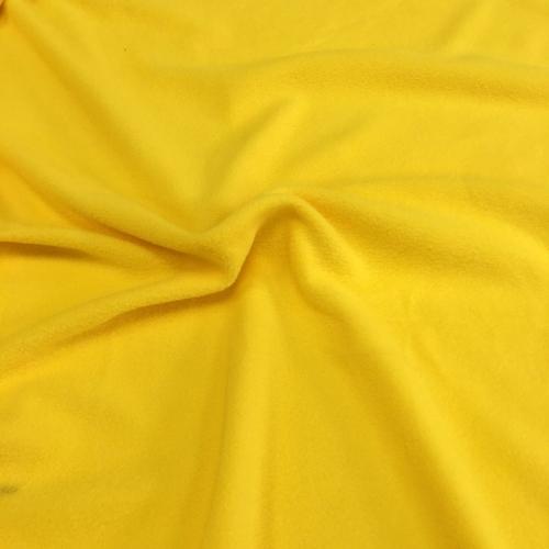 Флис, 160 см, желтый цвет №5
