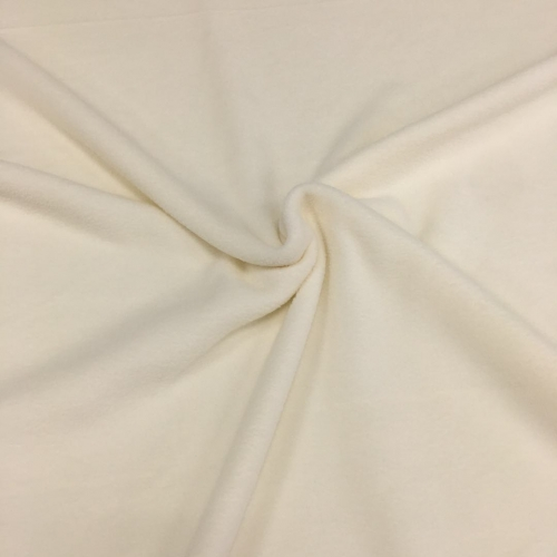 Флис, 160 см, молочный цвет №2