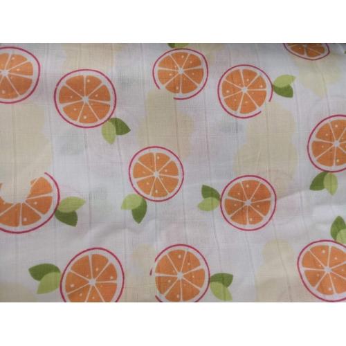 Муслин, 125см, апельсин