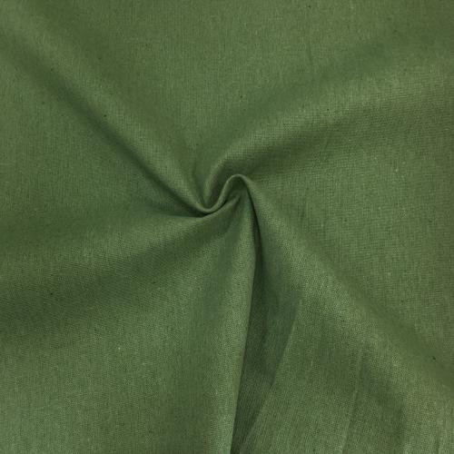 Интерьерный хлопок, 150 см, темно-зеленый однотон УЦЕНКА