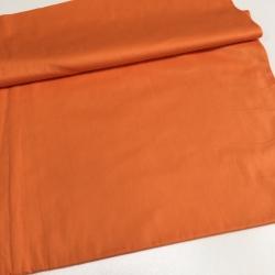 Сатин хлопок, 160 см, оранжевый однотон 30007