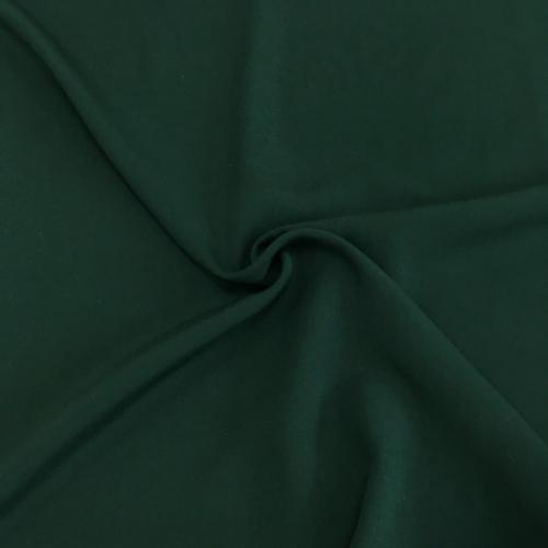 Штапель, 160 см, темно-зеленый однотон