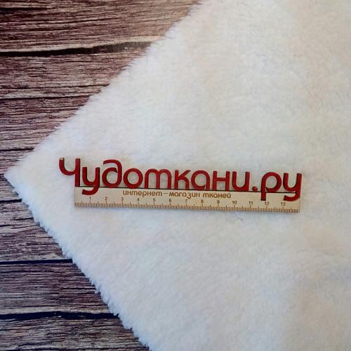 Велсофт длиный ворс, белый №1