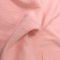 Муслин жатка, однотонный, 135см, розовый цвет №5