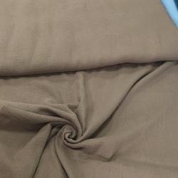 Муслин жатка, однотонный, 135см, серо-коричневый цвет №23
