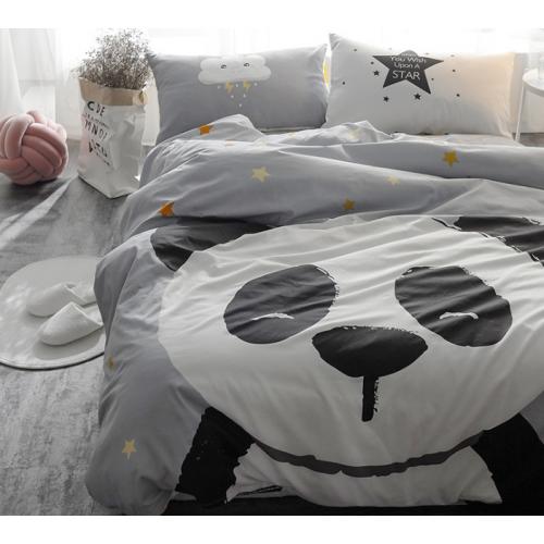 Купон большой, 160см*220см, панда, штука