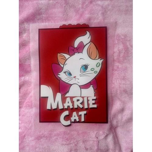 Термотрансфер, кошка белая Marie