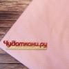 Сатин хлопок, 160 см, мелкий горошек, розовый фон